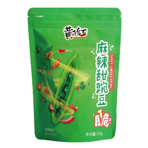 麻辣甜豌豆脆